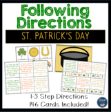 Following Directions  St. Patrick's Day