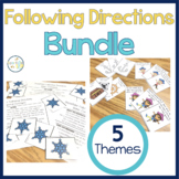 Following Directions: Task Cards BUNDLE