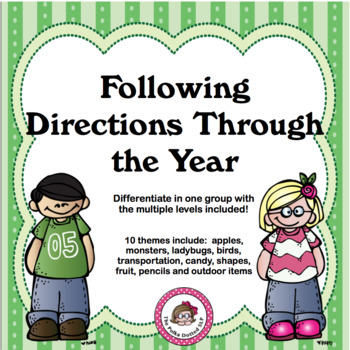 Following Directions Through the Year
