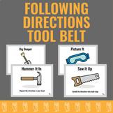 Following Directions Tool Belt