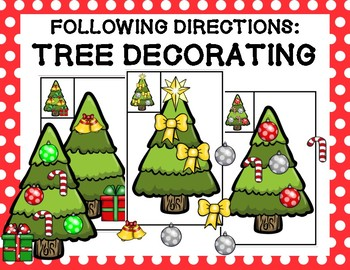 Following Directions: Tree Decorating