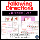 Following Directions: Valentine's Day
