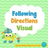 Following Directions Strategies Visual 2