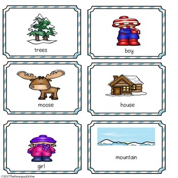Following Directions With Positional Words Activity Mats