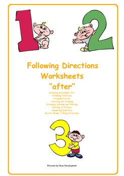 Following Directions    after