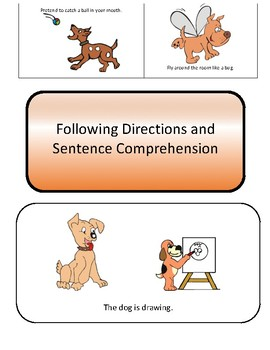 Following Directions and Sentence Comprehension
