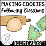 Following Directions for Making Cookies: Boom Cards™