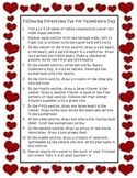 Following Directions for Valentine's Day Fun Freebie