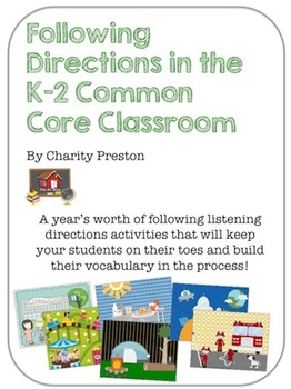 Following Directions in the K-2 Common Core Classroom