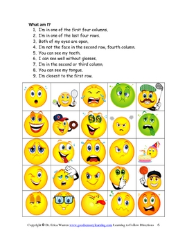 Following Directions the Fun and Easy Way -Beginners 2