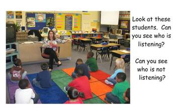 Following Directions using listening skills with Curious George