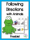 Following Directions with Animals