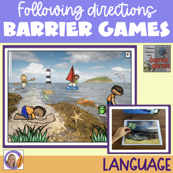 Following Directions with Barrier Games