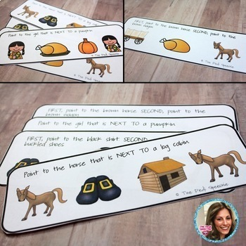 FOLLOWING DIRECTIONS | SPEECH THERAPY