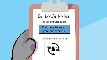 Following Directions with Dr. Lola Boom Cards