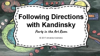 Following Directions with Kandinsky on TpT