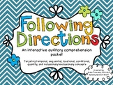 Following Directions with Linguistic Concepts! {An interactive game}