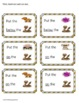 Following Directions with Positional Words Desert Activity Mats