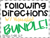Following Directions with Visuals Bundle!