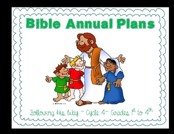 Following His Way Annual Plan for 1st to 4th. Multigrade - NAD SDA