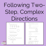 Following Multi-Step, Complex Directions