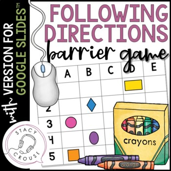 Following Multi-Element Directions: A Barrier Game