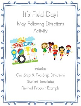Following Oral & Written Directions: Field Day Scene