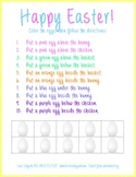 Following Positional Directions - Easter Theme!