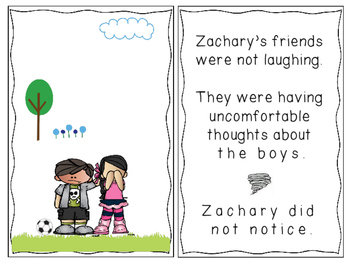 Social Skills Story: Making Good Choices in Friendships