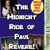 Revolution and Paul Revere's Midnight Ride: 3 Activities t