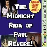 Revolution and Paul Revere's Midnight Ride: 3 Activities t