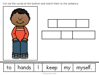 Following the Rules Sentence Matching and Unscrambling