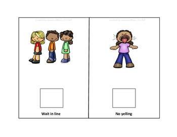 Following the Rules at School - Interactive Book