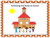 Following the rules at School
