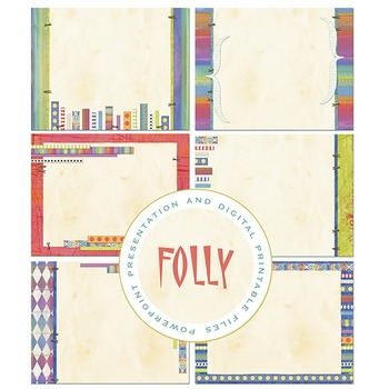 Folly PowerPoint Presentation and Digital Printable Files