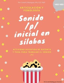 Fonema /p/ en silabas