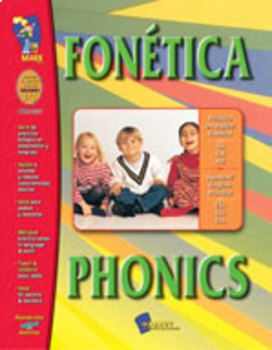 Fonetica / Phonics - A Bilingual Skill Building Workbook Gr. 1-3