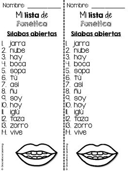 Fonética español - Spanish Phonics for the Whole Year - 2nd grade