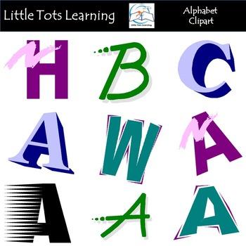 Alphabet Letters Clip Art Bundle