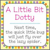 Font: A Little Bit Dotty (True Type Font)
