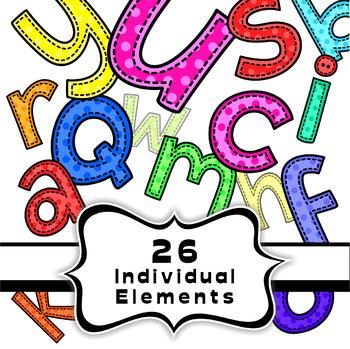 Font Alphabet Clipart