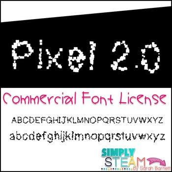 Font: Bubbles Pixel 2.0 Commercial License