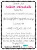 Font: Bubbles Unbreakable Commercial Font License