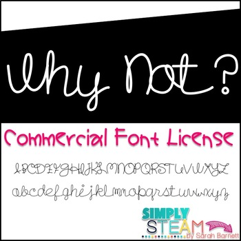Font: Bubbles Why Not? Single Commercial Font License