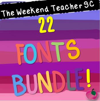 Font Bundle (22)