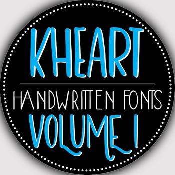 Font Bundle - Volume 1