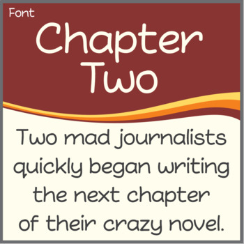 Font: Chapter Two (True Type Font)