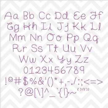 Font Charis TTF Font with Glyphs