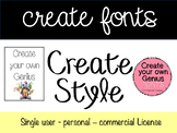 Font: Create Style