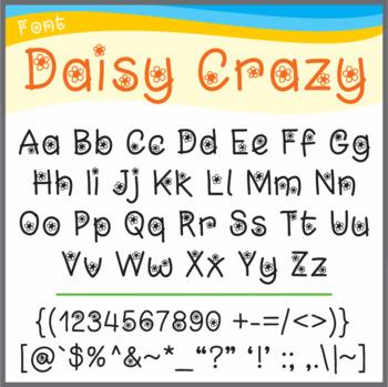 Font: Daisy Crazy (True Type Font)